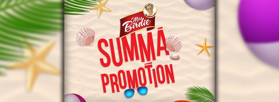 Miss Birdie Summa Promotion - Purity Bakery Miss Biridie | Jamaica